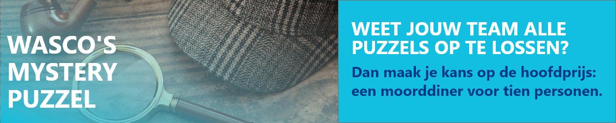 Wasco Mystery Puzzel hoofdprijs