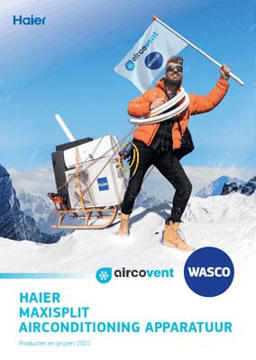 Haier Maxisplit airconditioning apparatuur