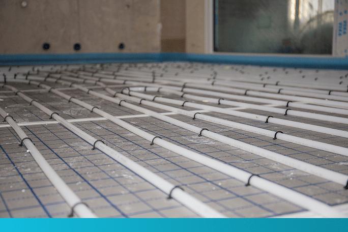 Systeemwater vloerverwarming